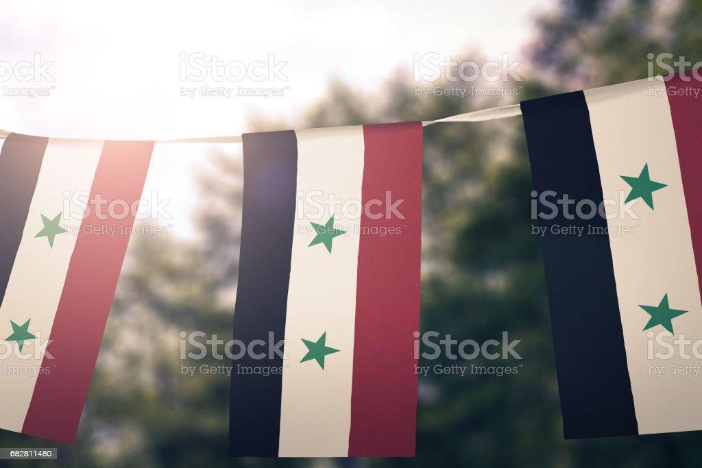 Flag of Syria Lizenzfreies stock-foto