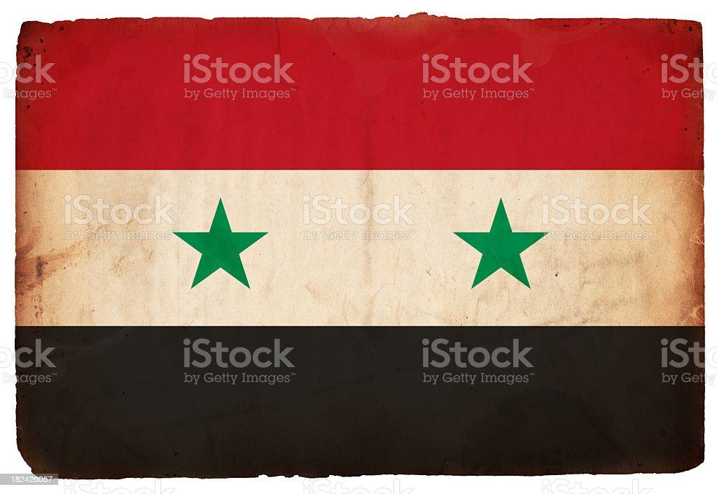 Flag of Syria - XXXL stock photo