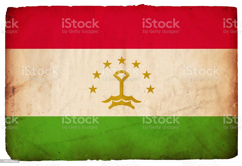 Flag of Tajikistan - XXXL stock photo
