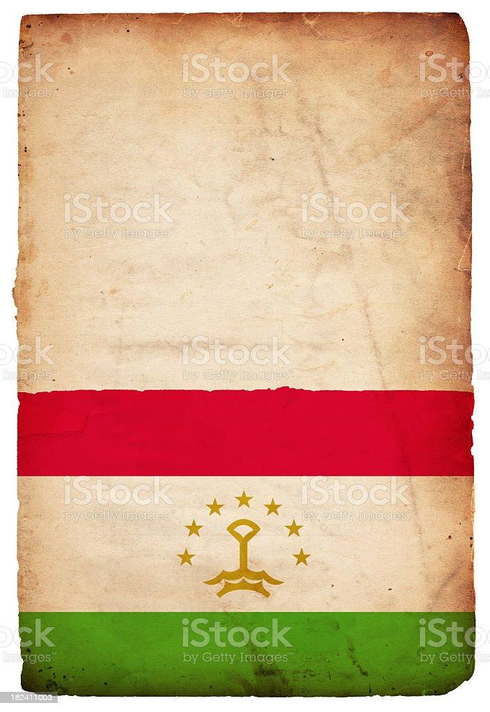 Flag of Tajikistan - XXXL royalty-free stock photo