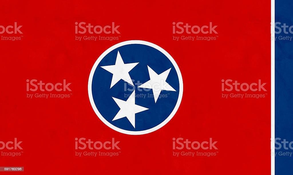 Flag Of Tennessee (U.S. state) - foto de acervo