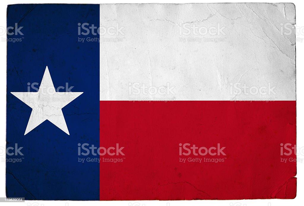 Flag of Texas royalty-free stock photo