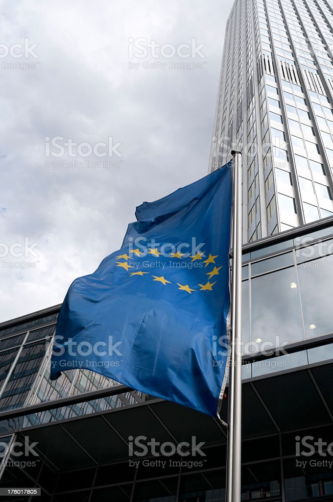Flag of the European Community royalty-free stock photo
