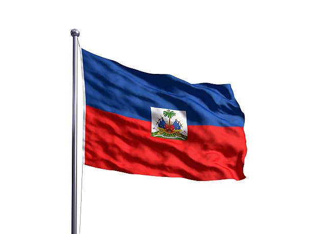 Flag of the Haiti (OLD) Newer version available. Newer version: Haiti Flag stock pictures, royalty-free photos & images