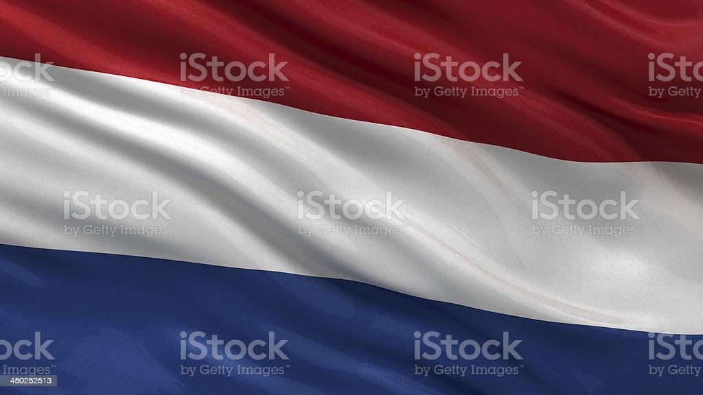 Bandera de los países bajos - foto de stock
