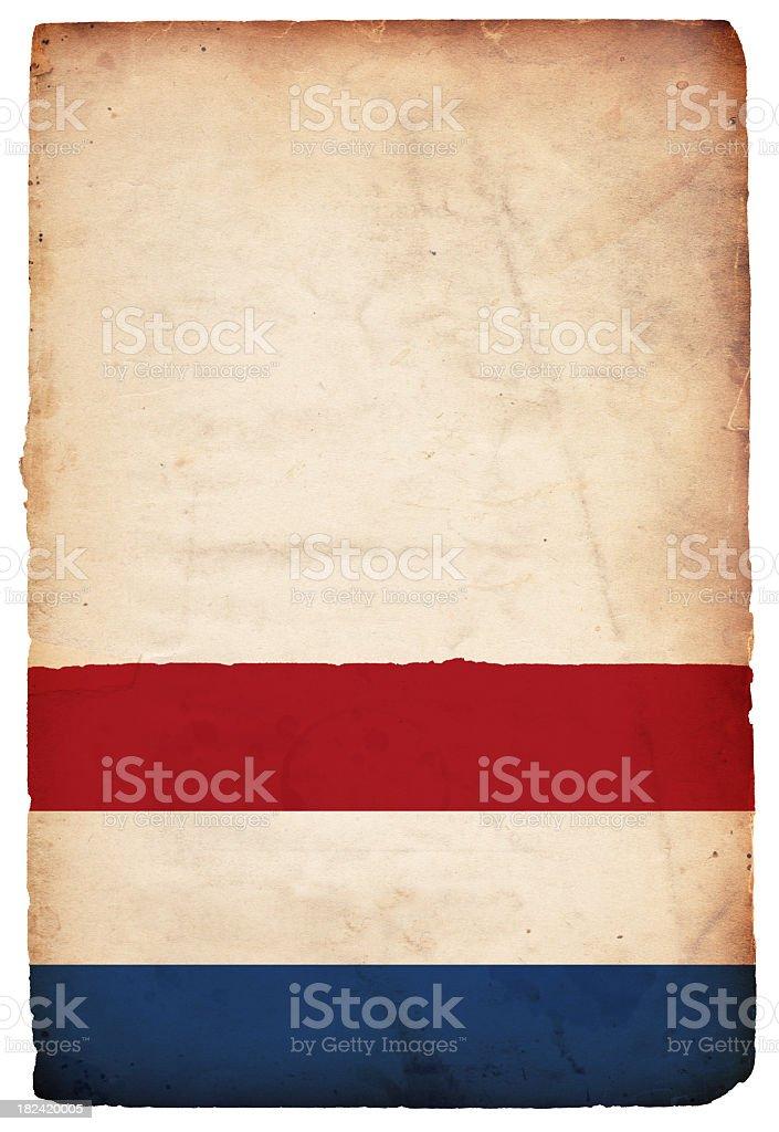 Flag of the Netherlands - XXXL royalty-free stock photo