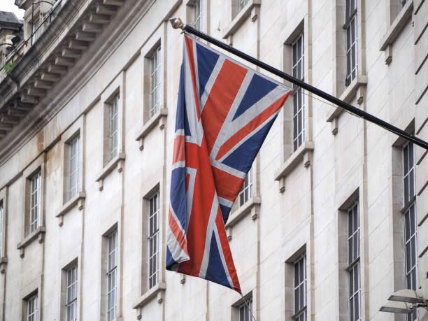 Bandeira do Reino Unido (Reino Unido) aka Union Jack - foto de acervo