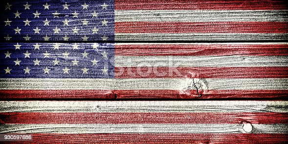 istock flag of the United States of America 930597686