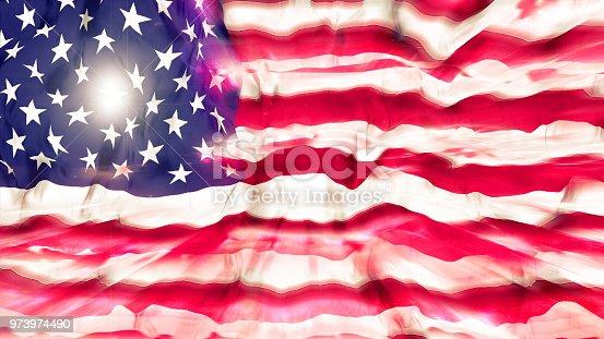 947881968istockphoto Flag of the United States 973974490
