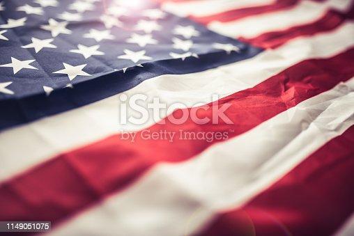 istock Flag of the USA 1149051075