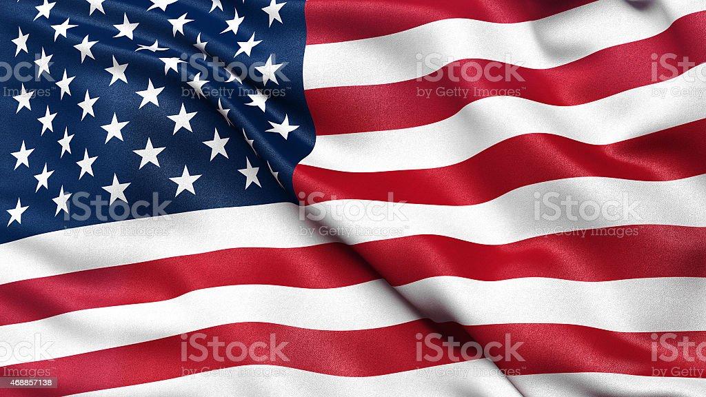 Flagge der USA – Foto