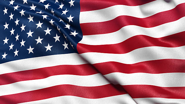 Flag of the USA Flag of the United States of America flags stock pictures, royalty-free photos & images