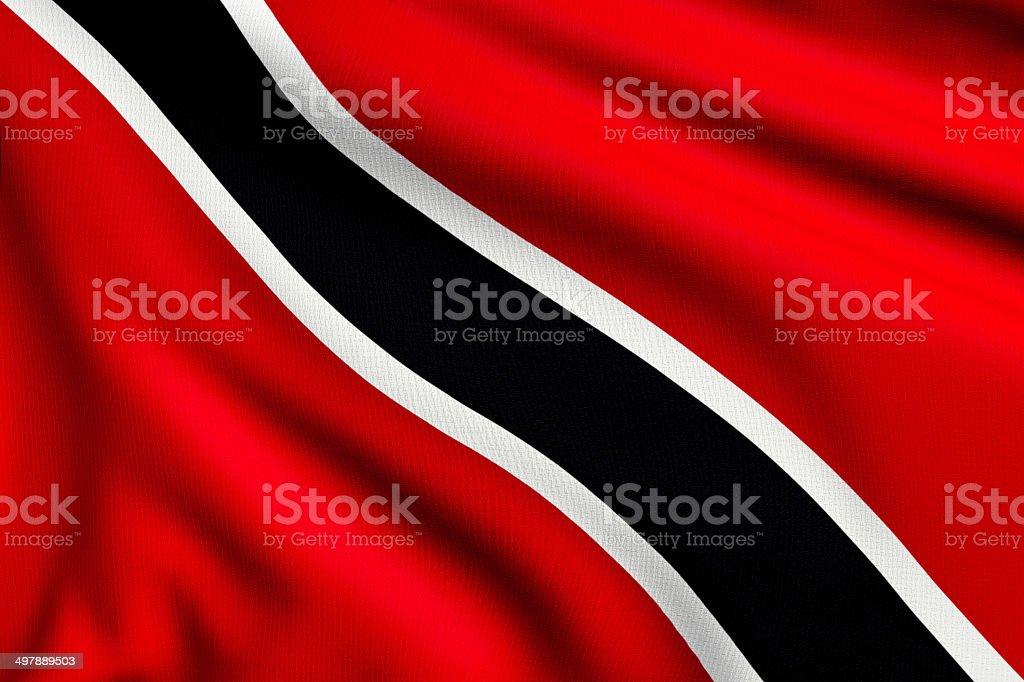 Flag of Trinidad and Tobago royalty-free stock photo