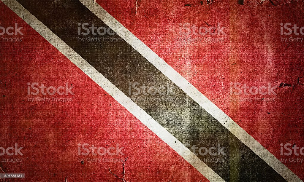 flag of Trinidad and Tobago stock photo