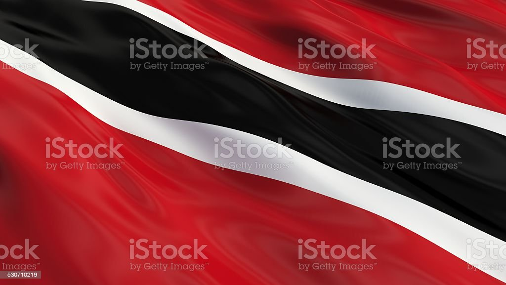 Flag of Trinidad and Tobago. stock photo