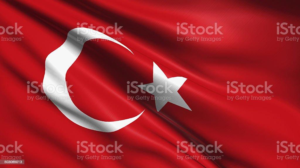 Flaga Turcji – zdjęcie