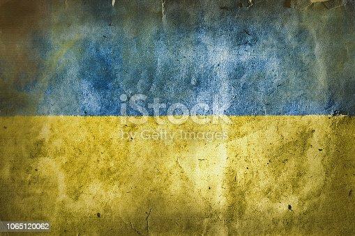 istock flag of  Ukraine 1065120062