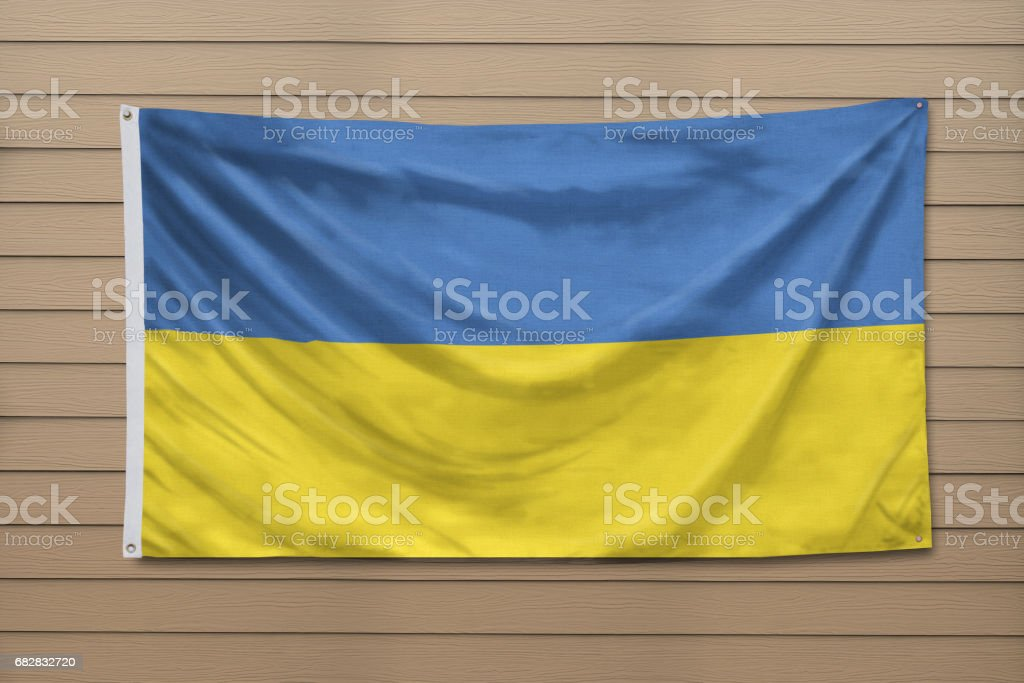 Flag of Ukraine Lizenzfreies stock-foto