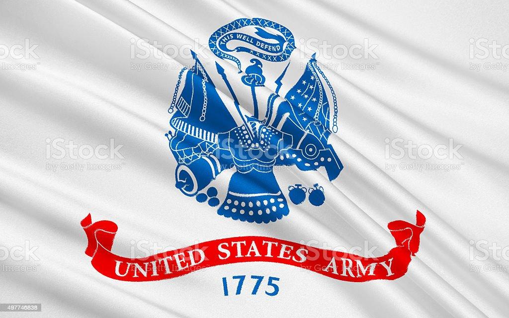 Флаг вооруженных сил Соединенных Штатов стоковое фото