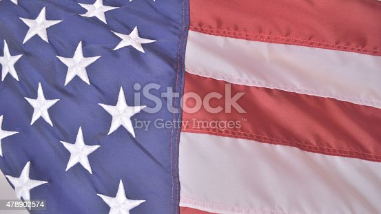 istock Flag of United States of America, faded 478902574