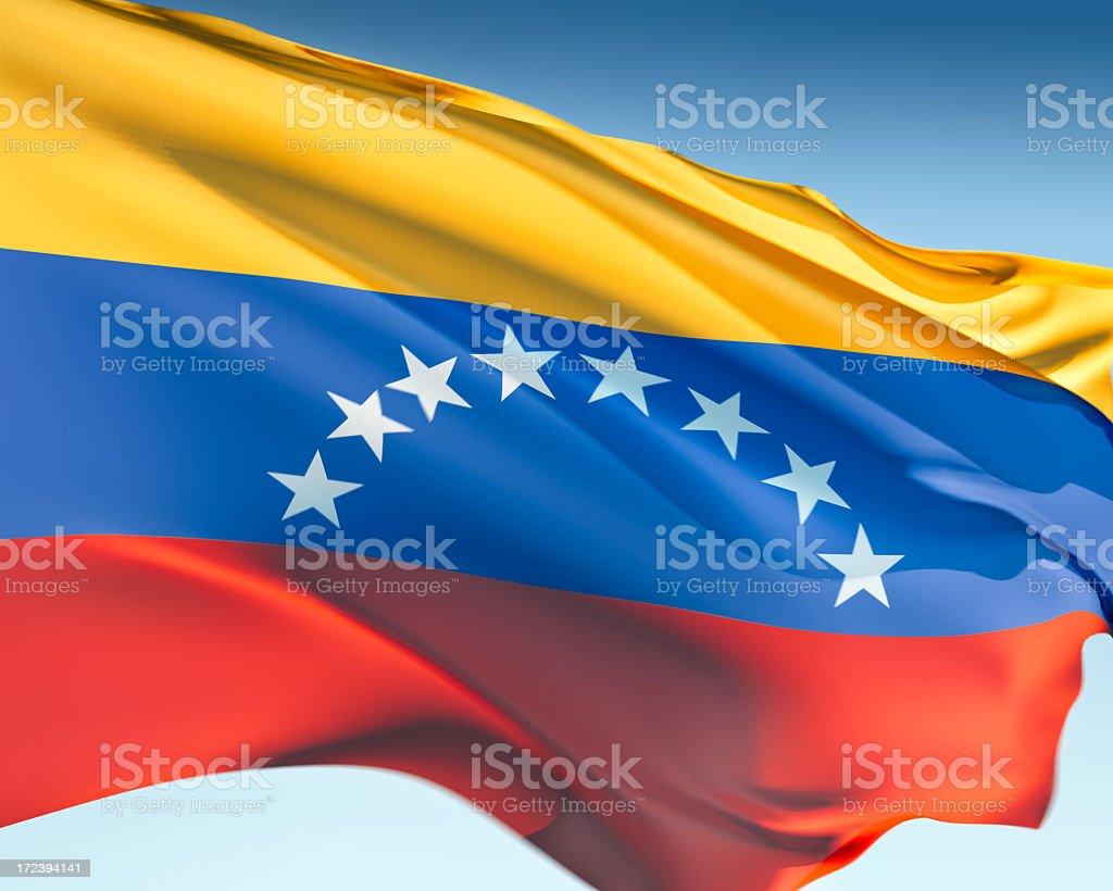 Bandera de Venezuela - foto de stock