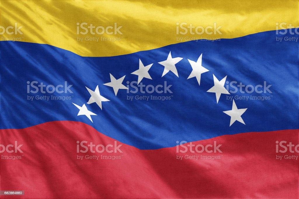 Flag of Venezuela - foto de stock