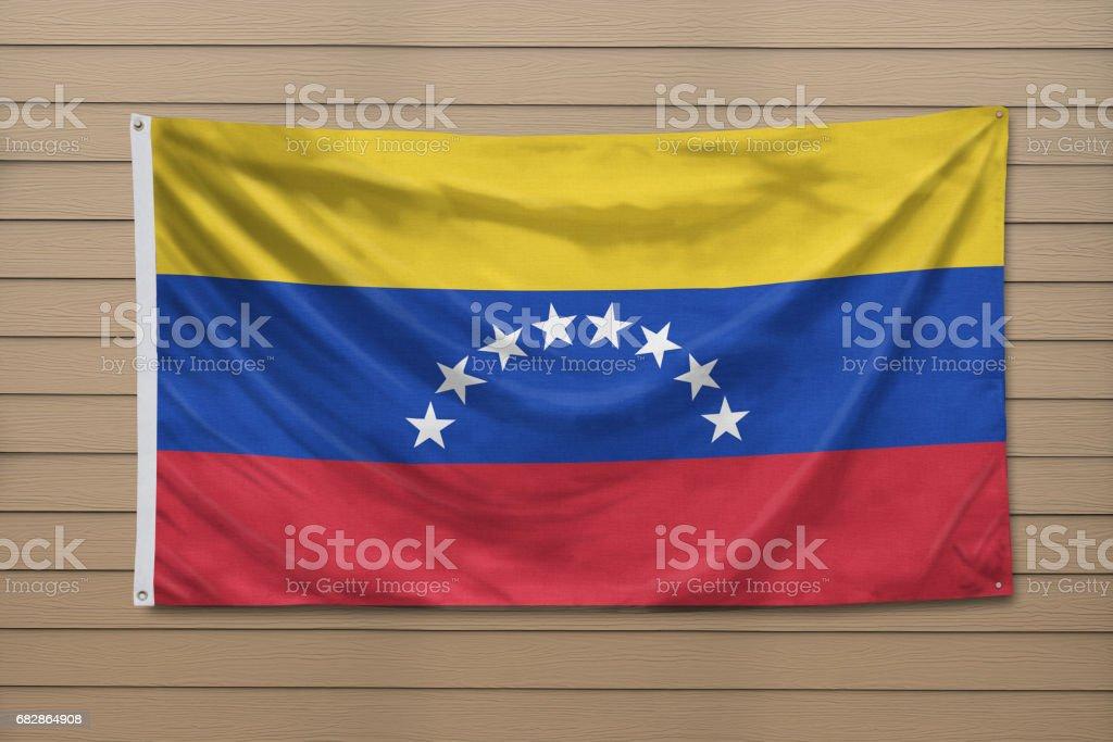Flagge von Venezuela Lizenzfreies stock-foto