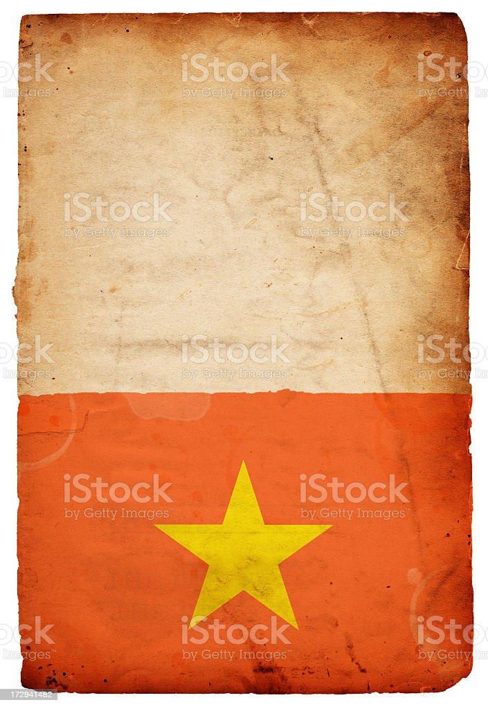 Flag of Vietnam XXXL royalty-free stock photo