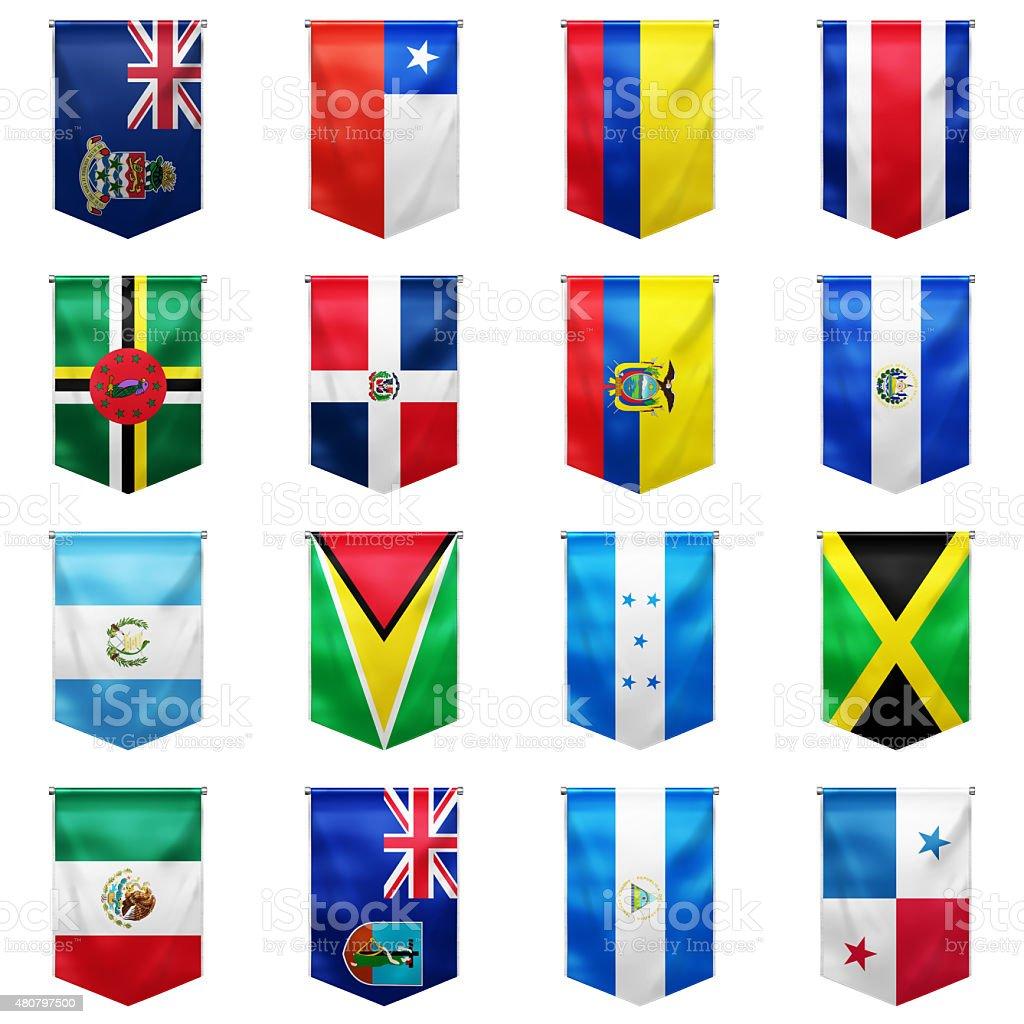 Flag of world_09 stock photo