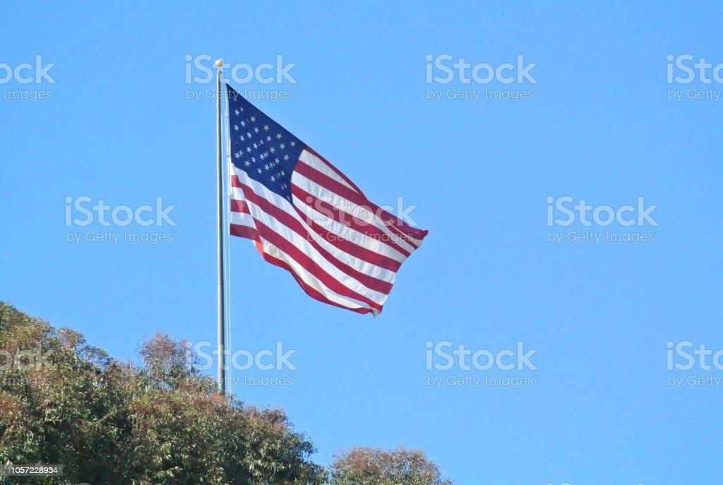Bandeira EUA - foto de acervo