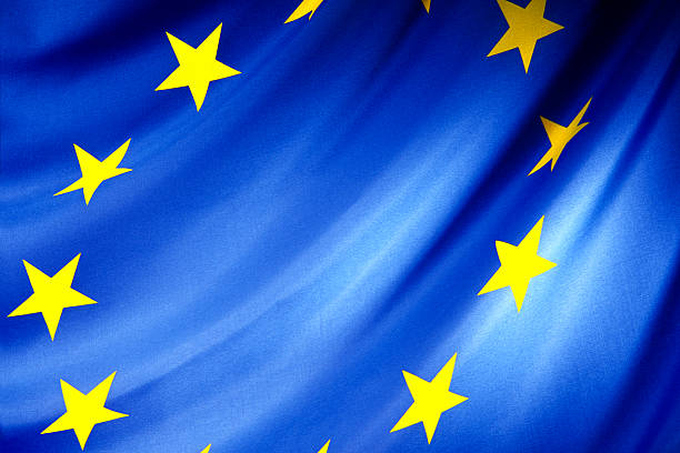 EEC flag Flag of the European Union berlaymont stock pictures, royalty-free photos & images
