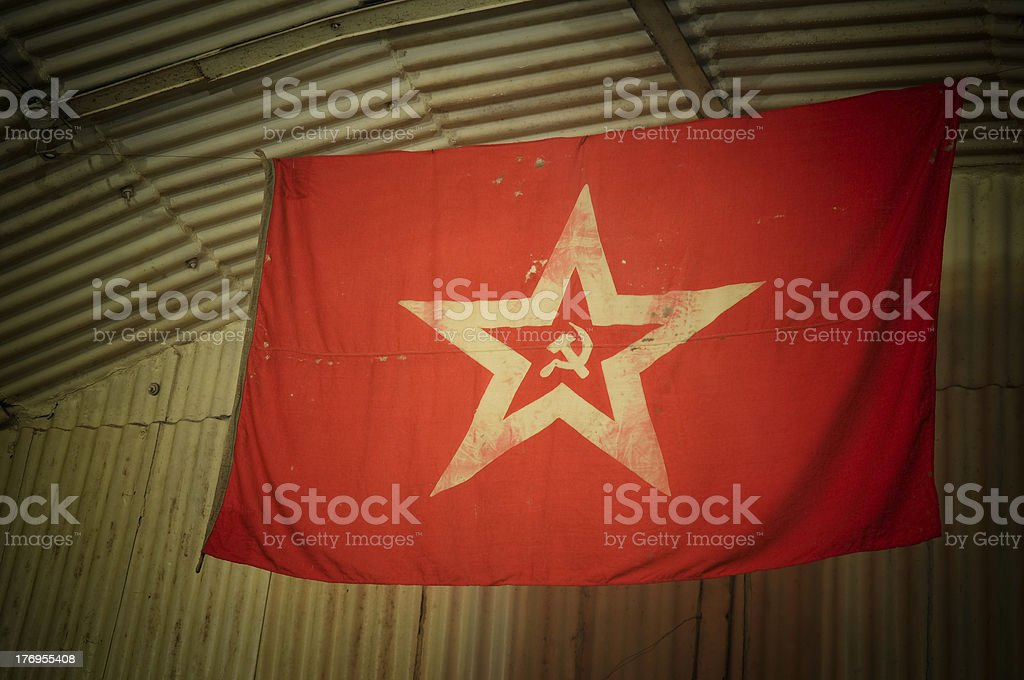 USSR flag royalty-free stock photo