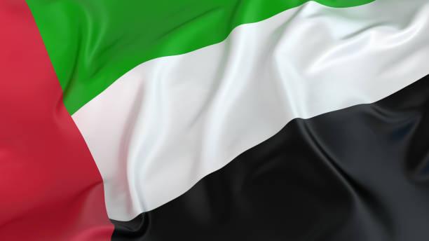 flaga zjednoczonych emiratów arabskich - uae flag zdjęcia i obrazy z banku zdjęć