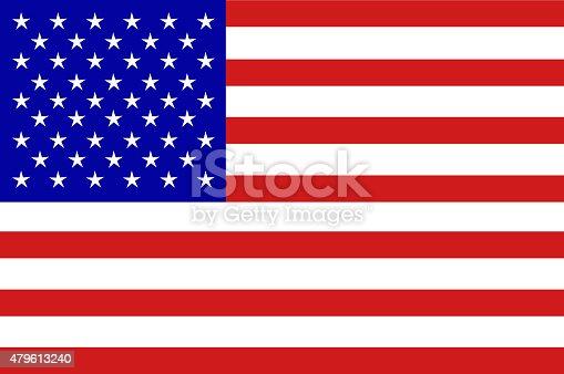 istock U.S.A  Flag 479613240