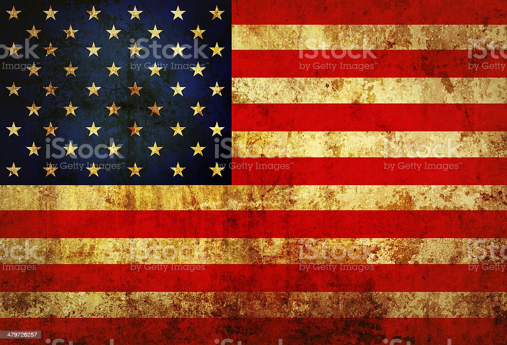 USA Flag stock photo