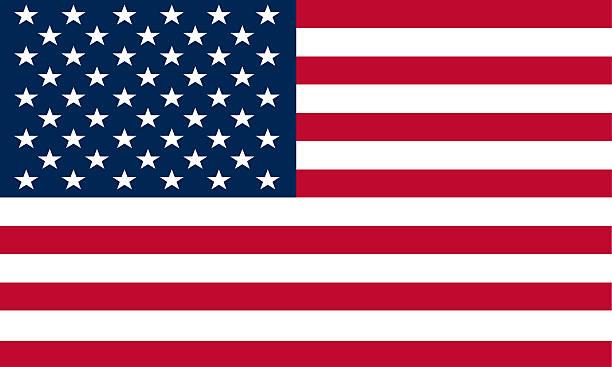 Bandera de los Estados Unidos - foto de stock