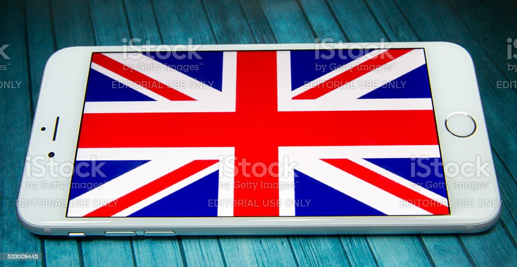 U.K Flag stock photo