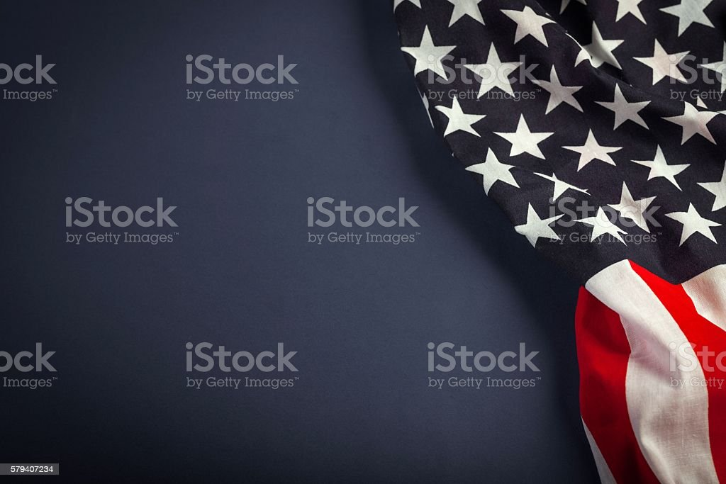 Flag stock photo