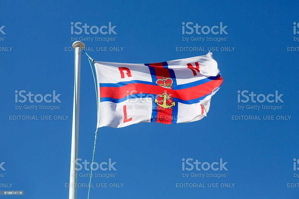 RNLI Flag stock photo