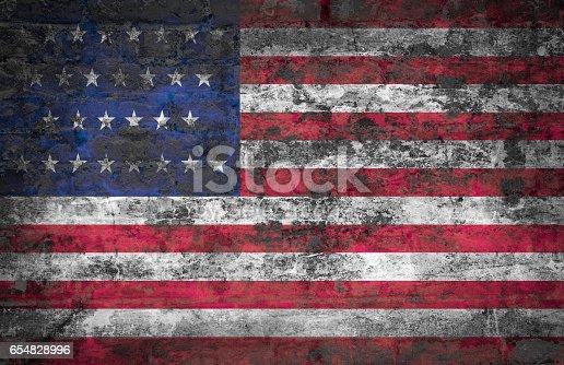 istock USA flag 654828996