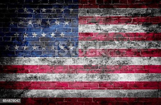 istock USA flag 654829042