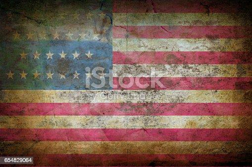 istock USA flag 654829064