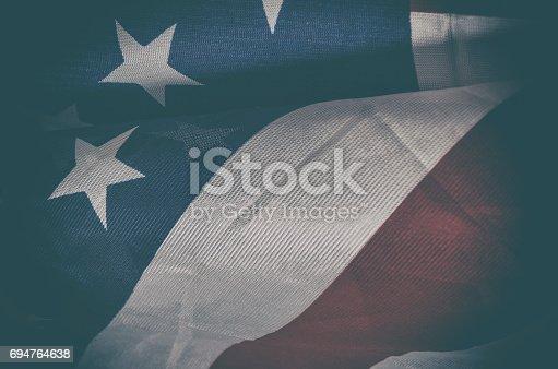 953130996istockphoto USA flag 694764638
