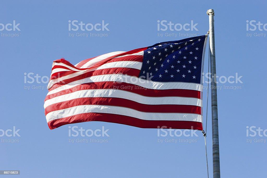 USA Flag royalty-free stock photo