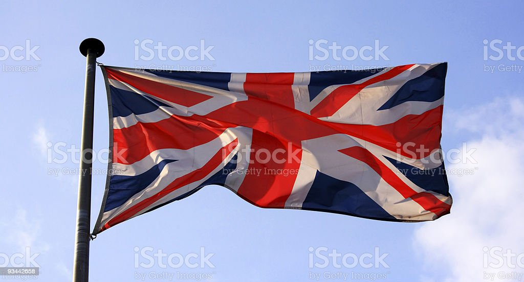 UK-Flagge Lizenzfreies stock-foto