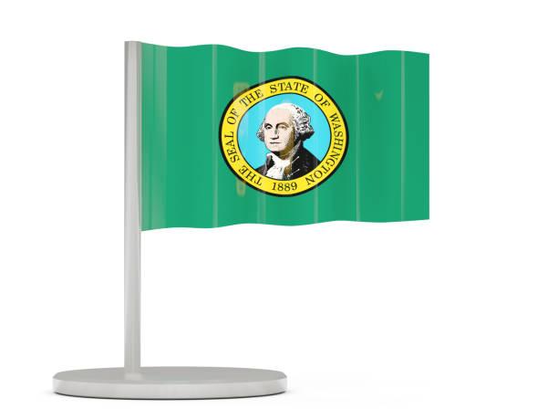 Bandera Del Estado De Washington - Stock Fotos e Imágenes - iStock