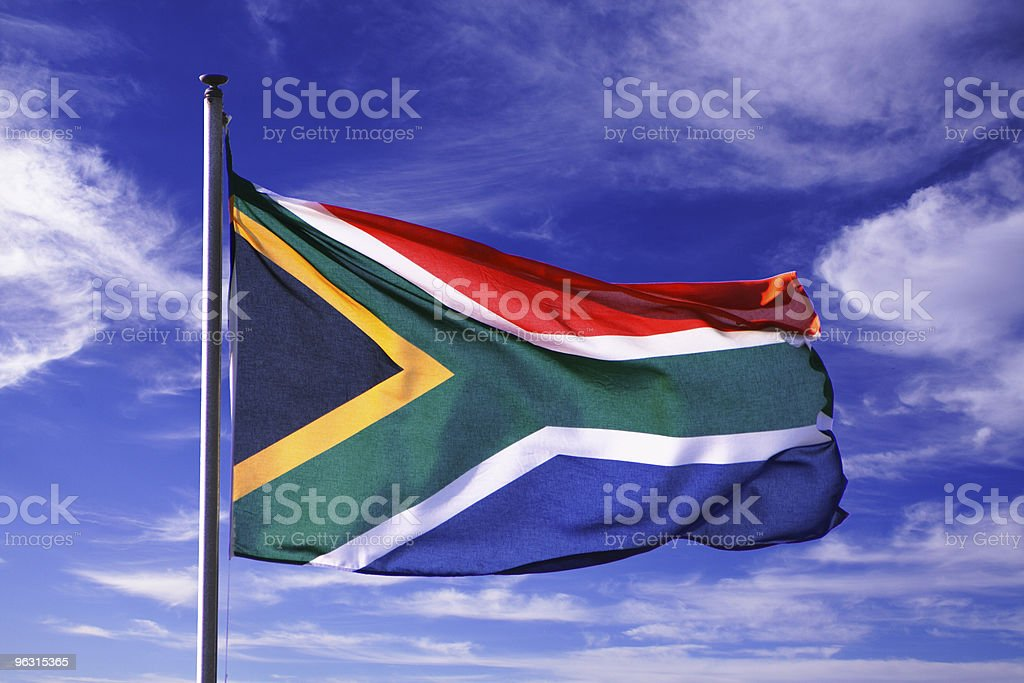 flag south africa royalty-free stock photo