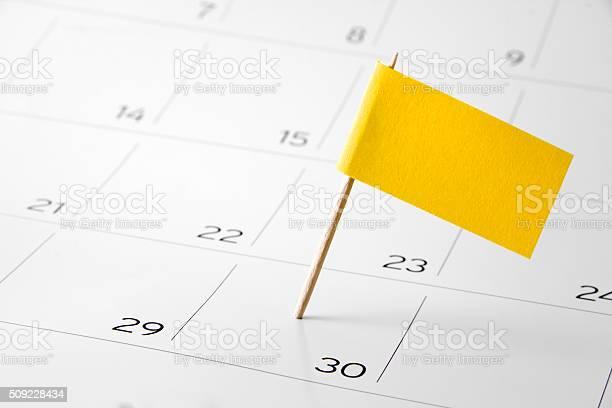 Flag the event day or deadline on calendar 2016 picture id509228434?b=1&k=6&m=509228434&s=612x612&h=jk7oloxls rmytkyrkzjy5raenfsfvg6v1anbqr2tsm=