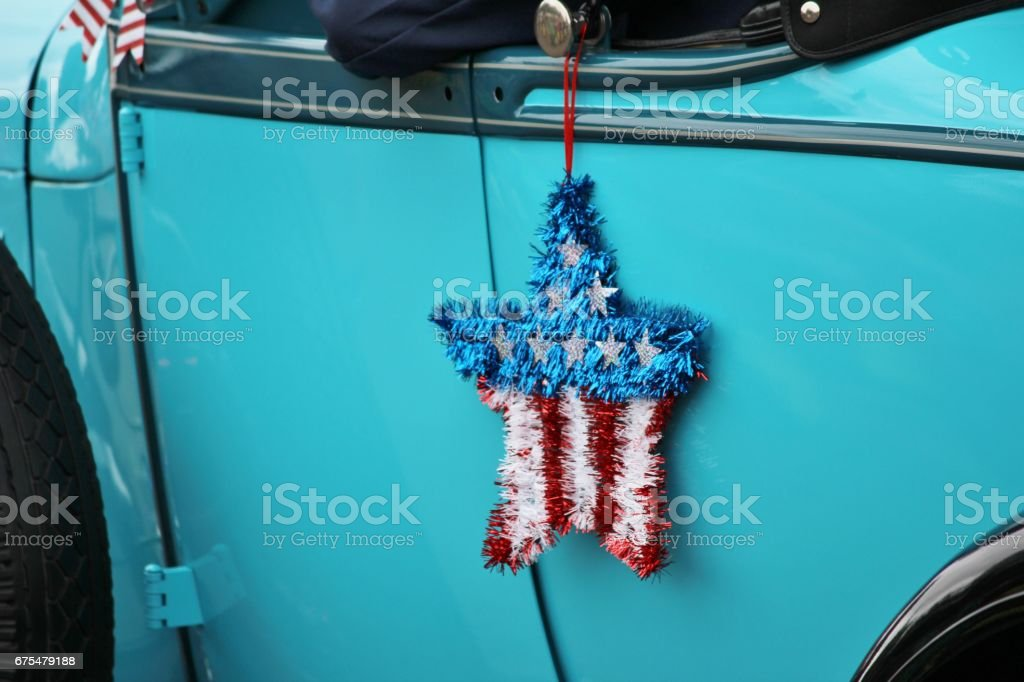 Flag Themed Star stock photo