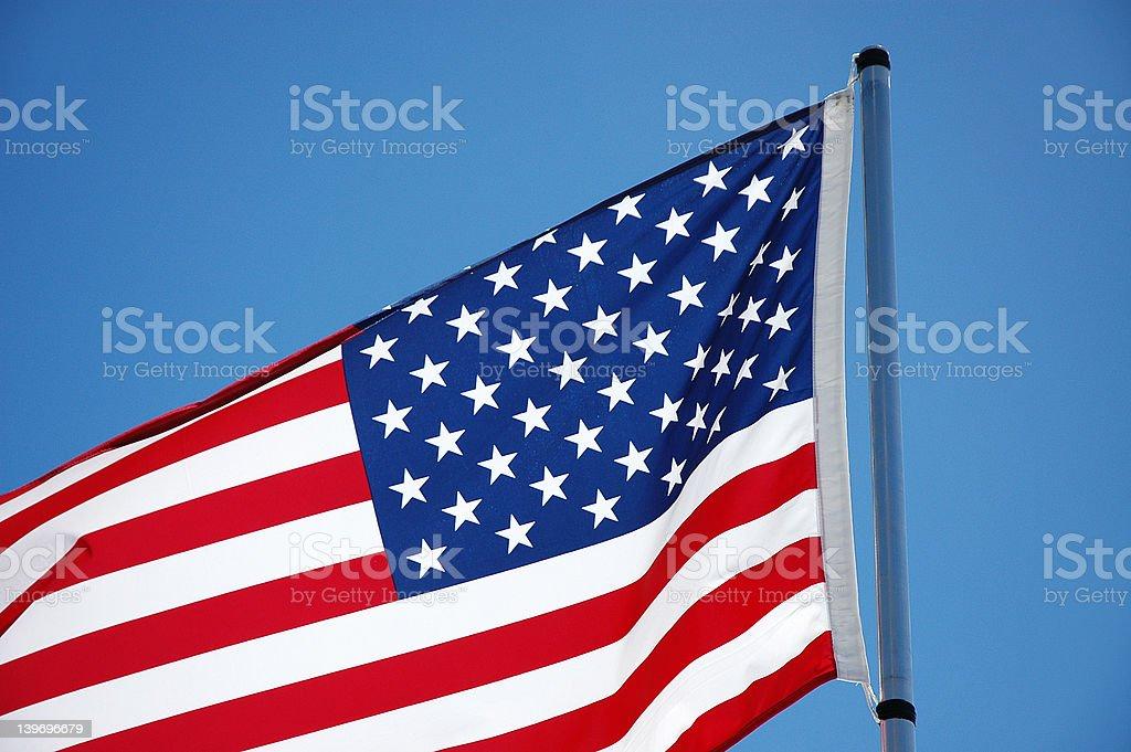Flag - USA stock photo